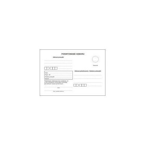 Firma krajewski Pokwitowanie odbioru w postępowaniu karnym [ms/kog-25] (5907510474626)