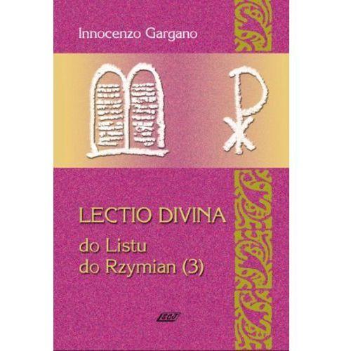 Lectio Divina 17 do Listu do Rzymian (3) (9788375191271)