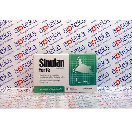 Lek na katar: SINULAN FORTE 60 tabletek