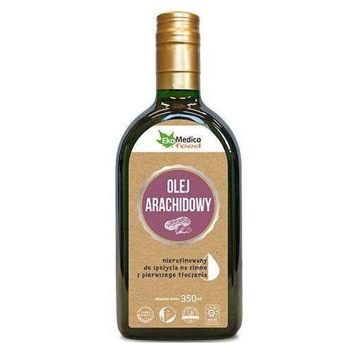 Olej arachidowy z pierwszego tłoczenia nierafinowany 350ml marki Ekamedica