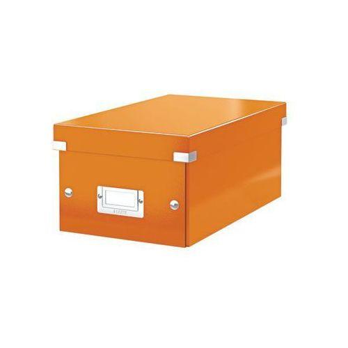 Pudło na cd  click&store wow 6042 - pomarańczowe, marki Leitz