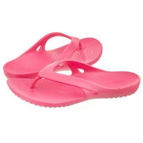Japonki Crocs Kadee II Flip W Paradise Pink 202492-6NP (CR119-d), kolor różowy