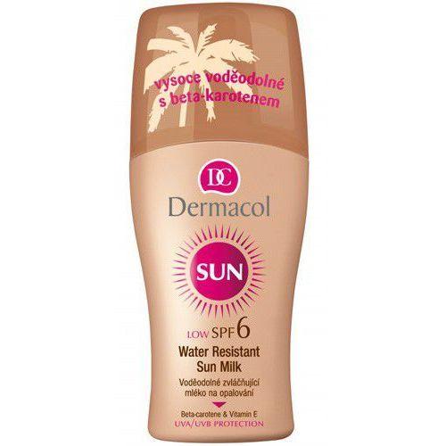 Dermacol Sun Milk Spray SPF6 preparat do opalania ciała 200 ml dla kobiet (8595003103428)