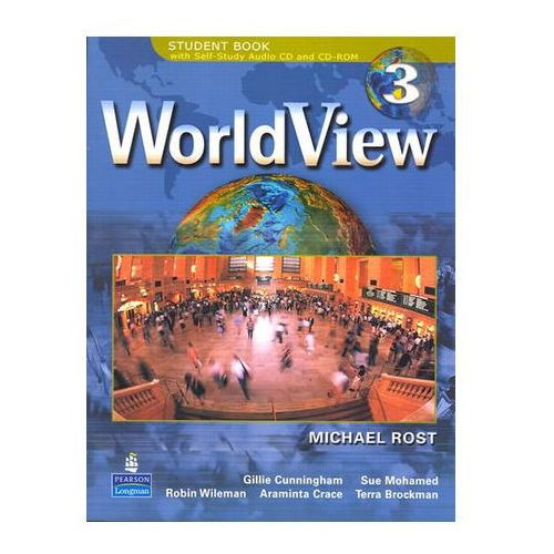 WorldView 3 with Self-Study Audio CD and CD-ROM Workbook Drosten Michaela