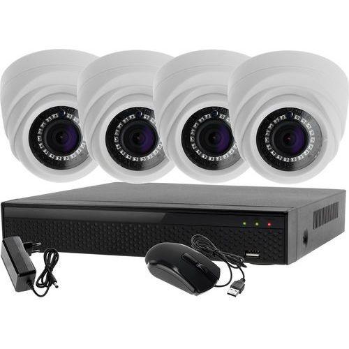 Monitoring zestaw 4w1: 4x kamera lv-al1m2fdpwh + rejestrator 4 kanałowy lv-xvr44n p2p marki Ivel