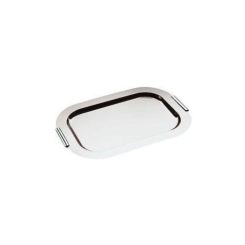 Taca prostokątna do serwowania z uchwytami chromowanymi 700x480 mm   , finesse marki Aps