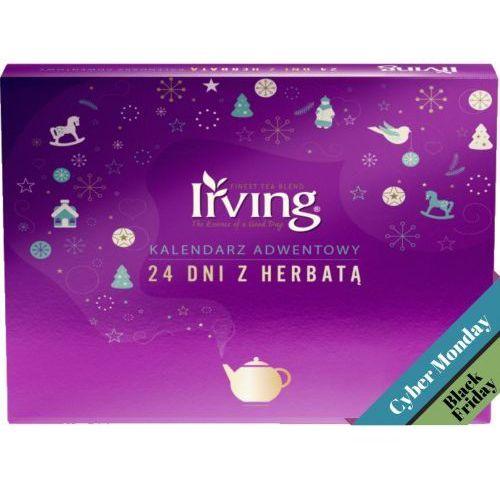 Kalendarz adwentowy 24 dni z herbatą marki Irving
