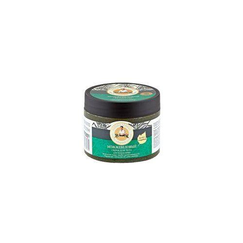 Bania Agafii - jałowcowy scrub do ciała - tonizujący - czerwony jałowiec, masło shea, cedr syberyjski, herbata mongolska, cytryniec hiński, dziurawiec
