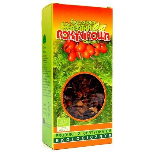 Herbatka rokitnikowa ekologiczna - na wzmocnienie organizmu - EKO - Dary Natury - 100g