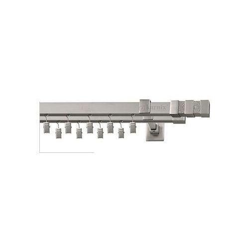Karnisze aluminiowe ELITE / Karnisze Aluminiowe ELITE VENEZIA podwójne chrom mat - oferta [35e44d78b7a53263]