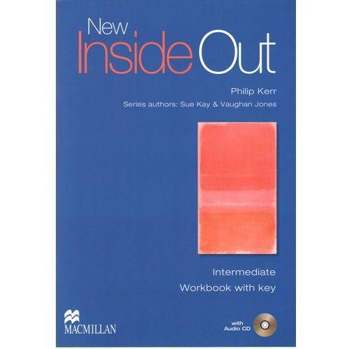 New Inside Out Intermediate Ćwiczenia + CD (z Kluczem), oprawa miękka