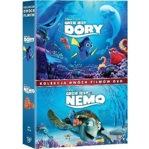 GDZIE JEST DORY/GDZIE JEST NEMO - PAKIET 2 FILMÓW (2DVD) (Płyta DVD) (7321917506021)