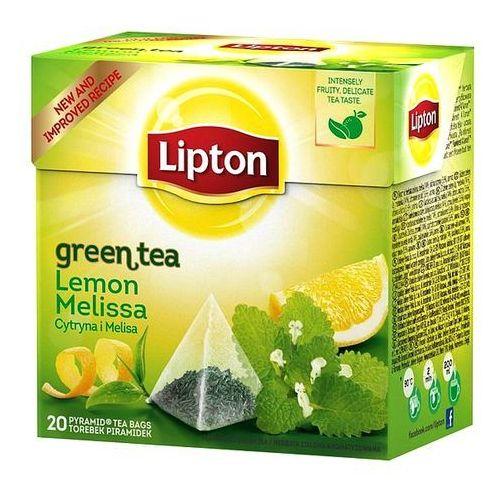 Herbata Lipton Green Lemon Melissa piramidki (20 saszetek)
