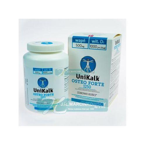 Unikalk Osteo Forte x 120 tabl. - tabletki na osteoporozę