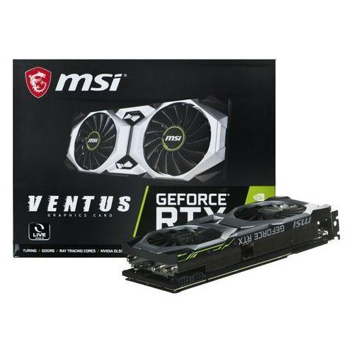 Msi Karta graficzna geforce rtx 2080 geforce rtx 2080 super ventus o 8gb gddr6 15500 mhz 256-bit- natychmiastowa wysyłka, ponad 4000 punktów odbioru!