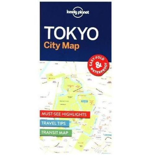 Lonely Planet Tokyo City Map, Lonely Planet