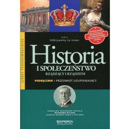 Historia LO Rządzący i rządzeni Odkrywamy.. w.2015 (120 str.)