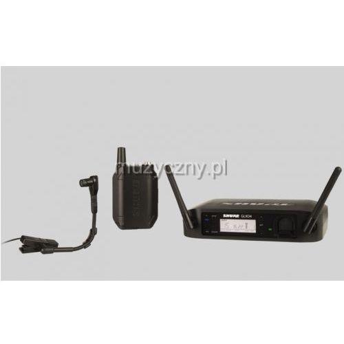 Shure glxd14/beta98 beta wireless cyfrowy mikrofon bezprzewodowy do instrumentów beta 98 h/c