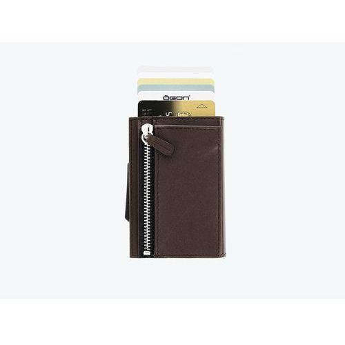 c50cd73e5c8af ... Ögon designs Portfel Ögon design cascade brown zipper 299,00 zł Portfel  Ögon Design Cascade nowoczesny portfel, który ochroni Twoje karty przed ...