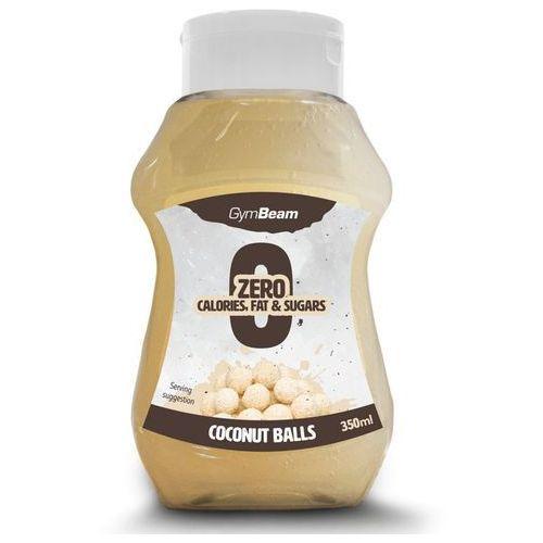 Gymbeam syrop bez kalorii o smaku kuleczek kokosowych 350 ml