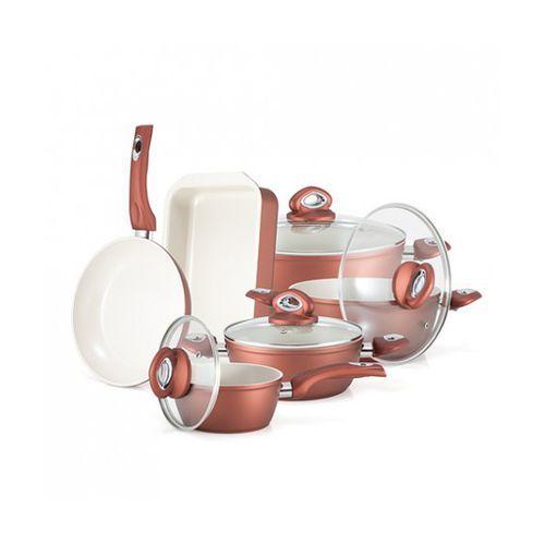 Zestaw naczyń ceramicznych MAXI GOLD PREMIUM - produkt z kategorii- garnki