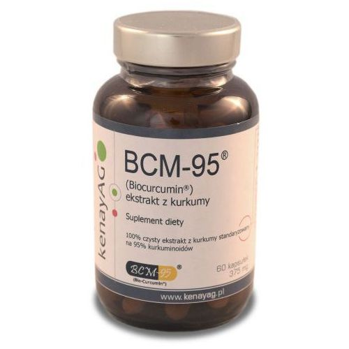 Kapsułki BCM-95 ekstrakt z kurkumy (Biocurcumin) (60 kaps.) Arjuna Natural Extracts