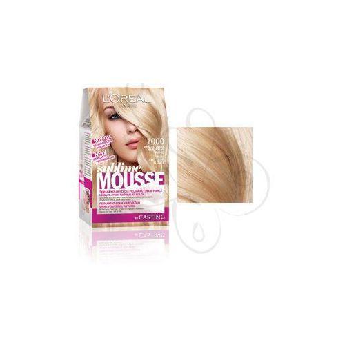 Sublime Mousse Farba do włosów nr 1000 Bardzo Jasny Naturalny Blond, L'Oreal Paris