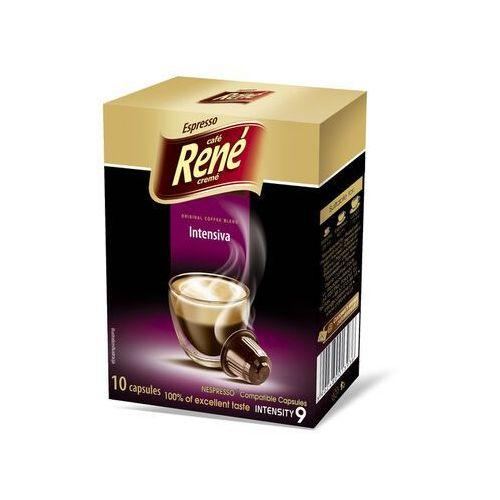 Rene Intensiva kapsułki do Nespresso – 10 kapsułek