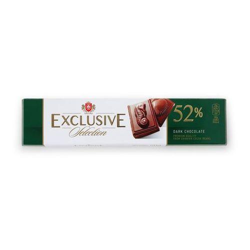Taitau Czekolada gorzka exclusiv 52% kakao, tabliczka 50g wysokiej jakości czekolada z kakao pochodzeniem z ghany (4779021230197)