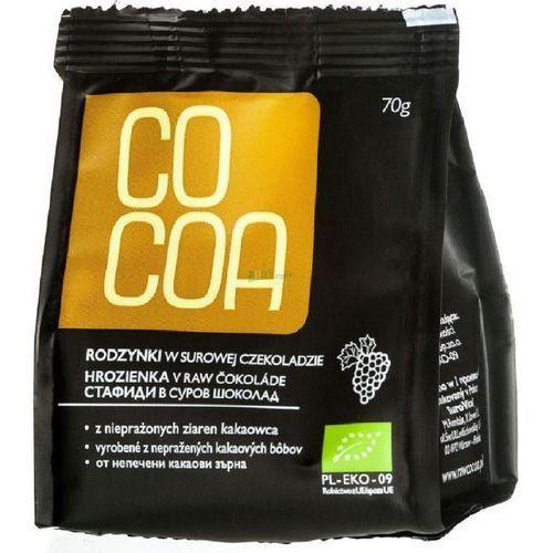 Cocoa Rodzynki w surowej czekoladzie bio 70g -