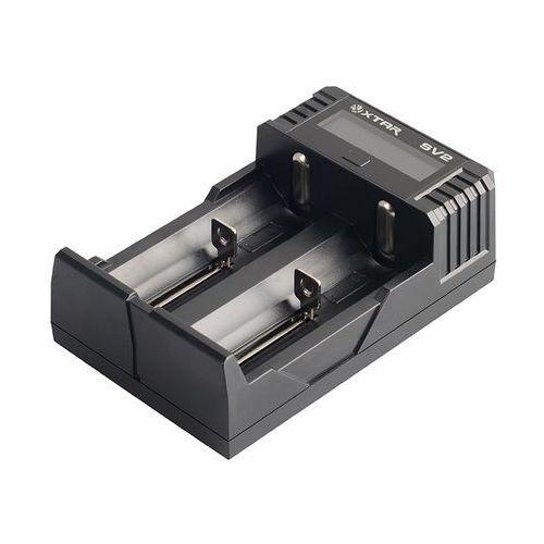 Super szybka ładowarka do akumulatorów cylindrycznych li-ion 18650 sv2 marki Xtar