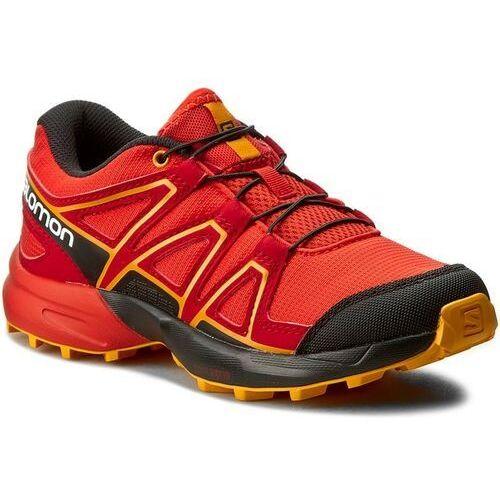 Nowe buty speedcross j fiery red/bk/bright m, rozmiar 31/19 cm marki Salomon