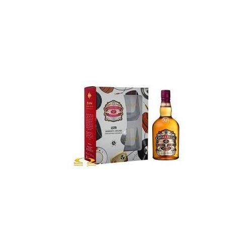 Whisky Chivas Regal 12yo 0,7l zestaw ze szklankami (5900685005138)