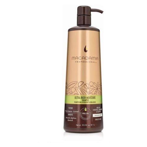 Macadamia ultra rich moisture shampoo   nawilżający szampon do włosów grubych 500ml