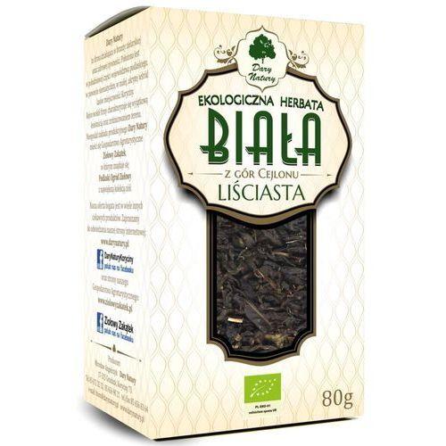 Herbata biała liściasta bio 80 g - dary natury marki Dary natury - herbatki bio