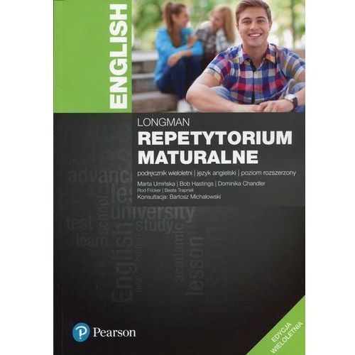 Repetytorium maturalne Język angielski Podręcznik wieloletni Poziom rozszerzony - Pearson (2017)
