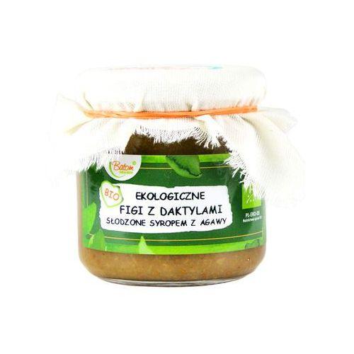 Figi z daktylami słodzone syropem z agawy bio 200 g - batom marki Batom (dżemy, soki, kompoty, czystek)