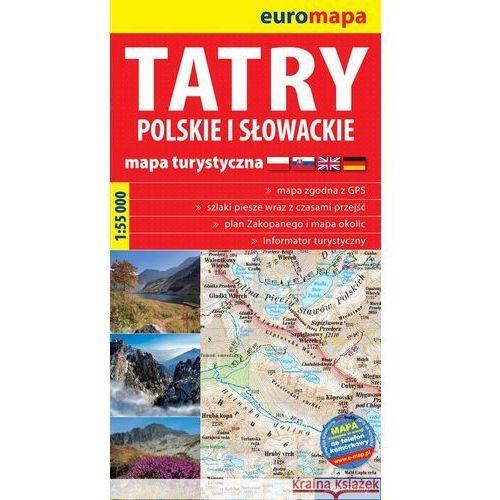 Tatry Polskie I Słowackie 1:55 000 Papierowa Mapa Turystyczna (2010)