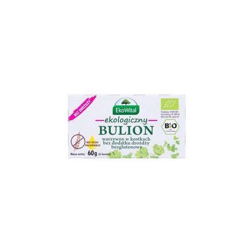 Bulion warzywny w kostkach bez drożdży, bez oleju palmowego BEZGL. BIO 60 g EKO WITAL