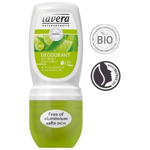 260lavera Dezodorant roll-on bio-limonka werbena 50ml lavera (4021457614783)
