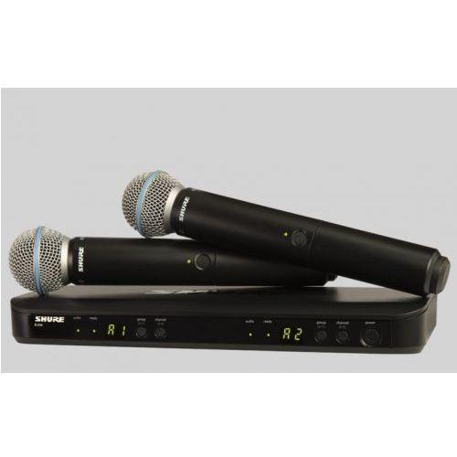blx288/b58 beta wireless mikrofon bezprzewodowy podwójny beta 58 marki Shure
