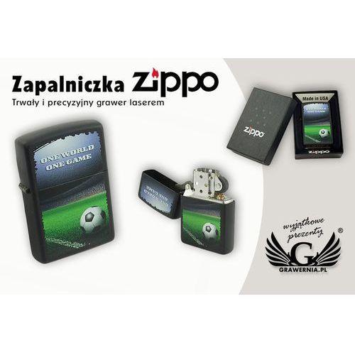 Zapalniczka one world one game black matte marki Zippo