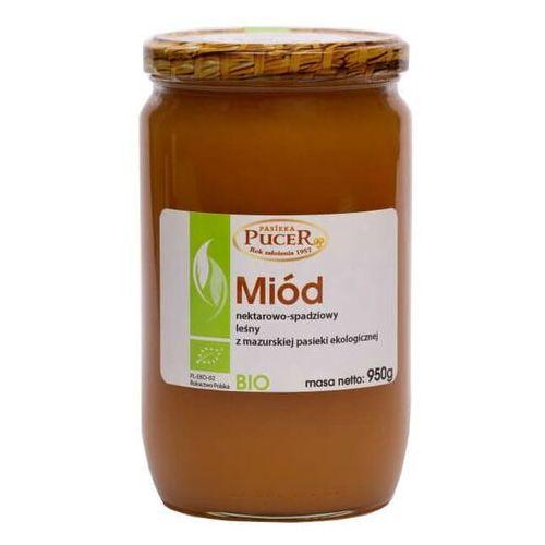 Pucer Miód nektarowy spadziowy leśny 950g - ekologiczny