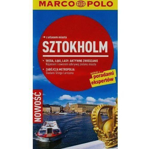 Sztokholm Przewodnik z atlasem miasta, Tatjana Reiff