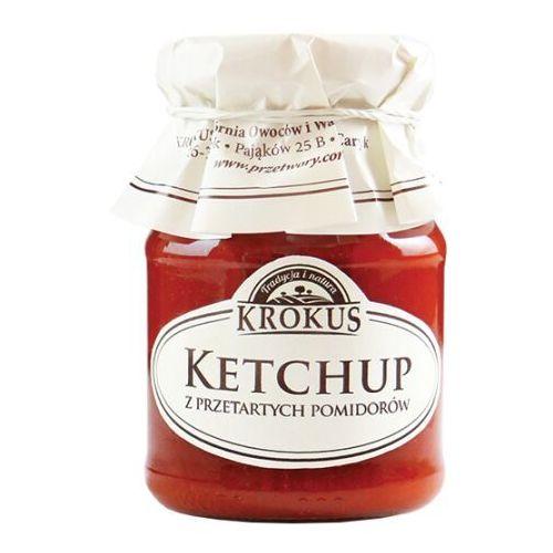 180g ketchup z przetartych pomidorów tradycyjna receptura marki Krokus