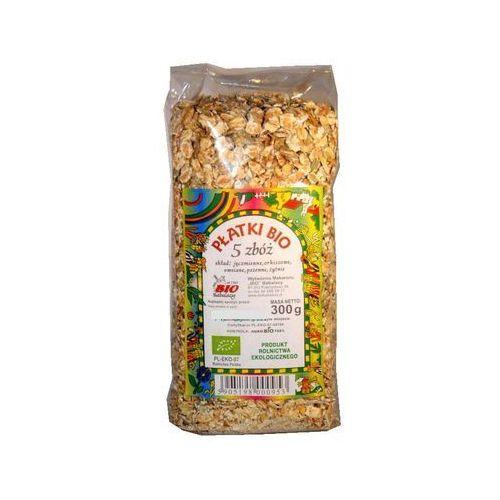 Babalscy : płatki zbożowe mix 5 zbóż bio - 300 g (5905198000953)