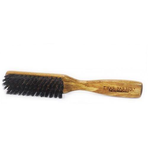 beard | szczotka do brody z włóknem z dzika z rączką marki Dear barber
