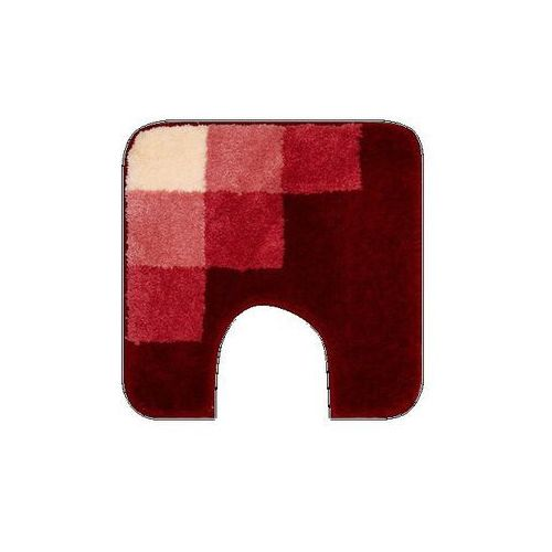 Dywanik na WC Grund UDINE czerwony, 50 x 50 cm, - oferta [45c6497f8715a57c]