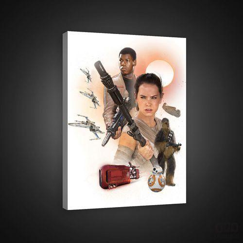 Consalnet Obraz star wars: przebudzenie mocy - rey & fin ppd1936