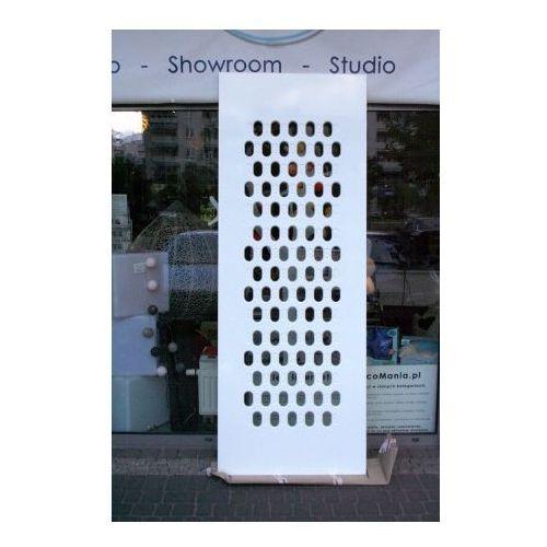 Panel ażurowy MDF - PDA 25 - wymiary 230x85 cm biały matowy, Proform z DecoMania.pl